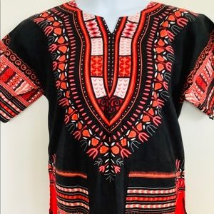 Mexican Style Oversized Top Medium
